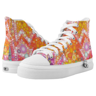 Sunshine Bubbles High-Top Sneakers
