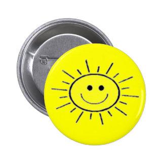 Sunshine Pinback Buttons