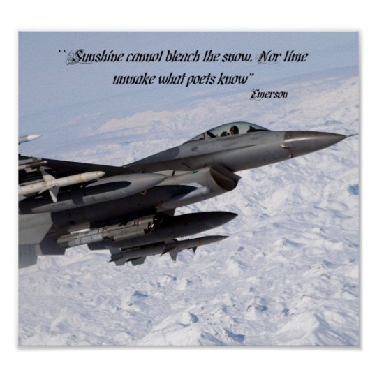 """""""Sunshine cannot bleach the snow, Nor time unmake Poster"""
