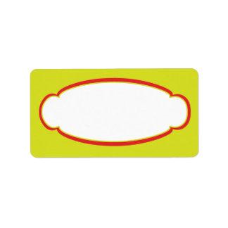 Sunshine Child Care Mailing Label Address Label