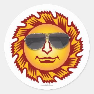 Sunshine... Classic Round Sticker