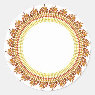 Sunshine Classic Round Sticker