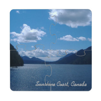 Sunshine Coast, Canada Puzzle Coaster