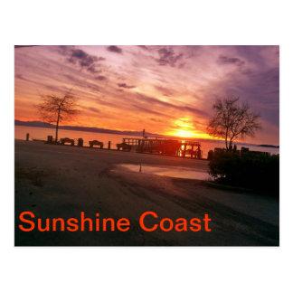 Sunshine Coast post card