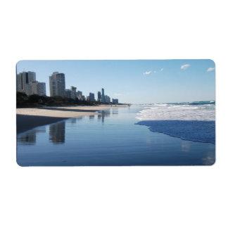 Sunshine Coast Queensland Australia Label