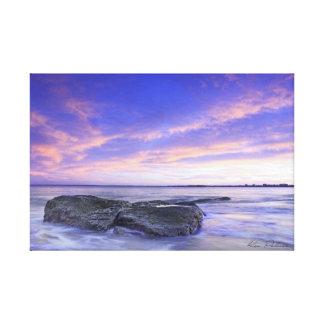 Sunshine Coast sunset Canvas Print