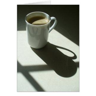 Sunshine Coffee Card
