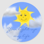 Sunshine Collection Classic Round Sticker