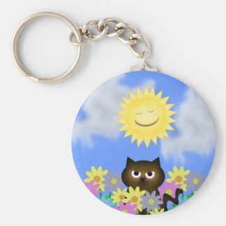 Sunshine Collection Keychain with Kitty
