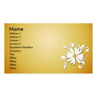 Sunshine Daisy Business Cards