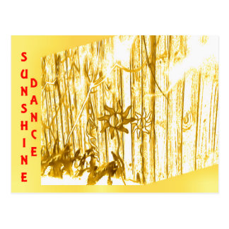 Sunshine Dance Postcard