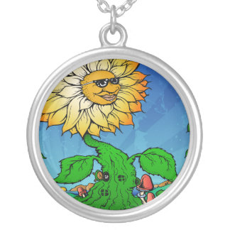 Sunshine Daydream Silver Plated Necklace