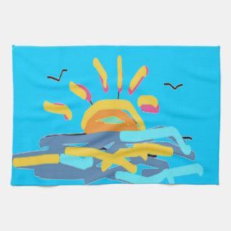 Sunshine Design by Carole Tomlinson Kitchen Towels