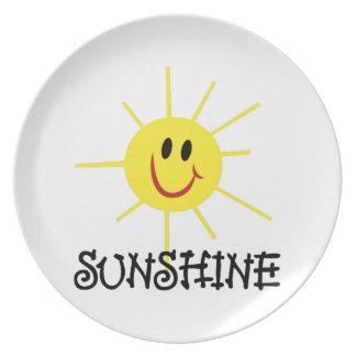 Sunshine Dinner Plate