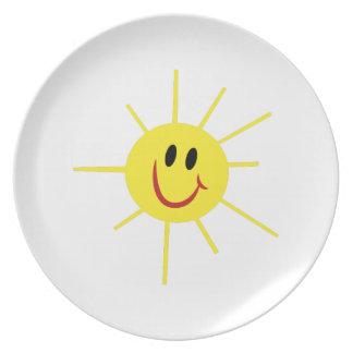 Sunshine Dinner Plates