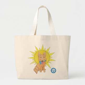 Sunshine Dog Tote Bag