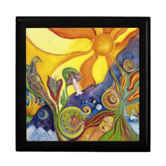 Sunshine Dream Fantasy Fairy Art Lysergia Gift Box