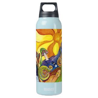 Sunshine Dream Garden Of Delights Art Insulated Water Bottle