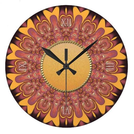Sunshine Earth Love Wall Clock