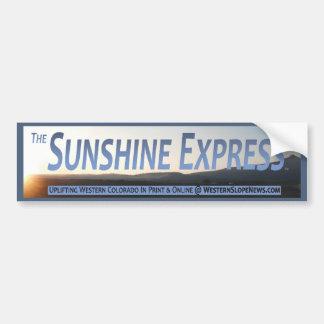 Sunshine Express Official Banner Bumper Sticker