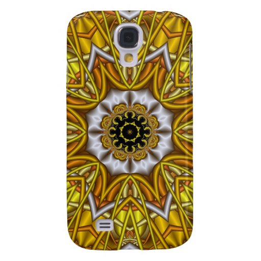 Sunshine flower, Kaleidoscope Galaxy S4 Cases