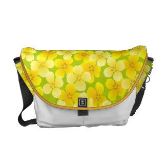 Sunshine Flowers Messenger Bag