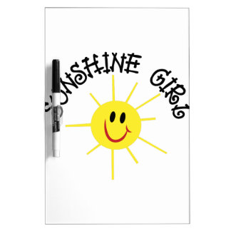 Sunshine Girl Dry Erase Board