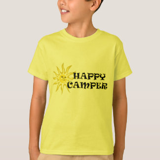 Sunshine Happy Camper Kids T-shirt