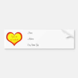 Sunshine Heart Address Label