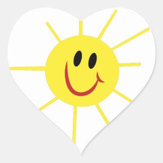 Sunshine Heart Sticker