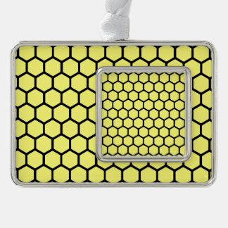 Sunshine Hexagon 4 Christmas Ornament