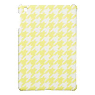 Sunshine Houndstooth 1 iPad Mini Cover
