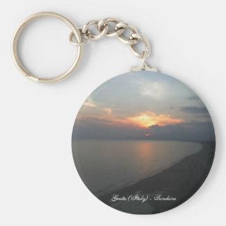 Sunshine in Gaeta (Italy) Keychain