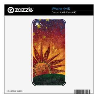 Sunshine IPhone 4/4S case Decal For iPhone 4S