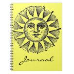 Sunshine Journal Spiral Note Book