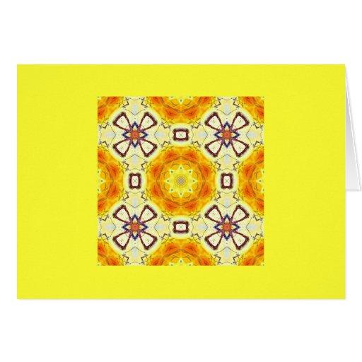 Sunshine Kaleidoscope Card