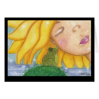 Sunshine Kisses Card