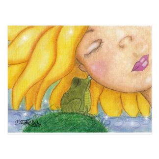 Sunshine Kisses Postcard