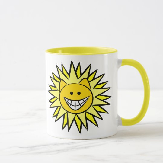 Sunshine Kitty Mug