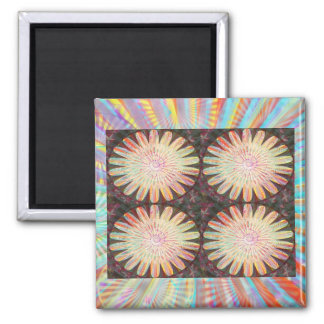 Sunshine -  Lifeforce for the Universe 2 Inch Square Magnet