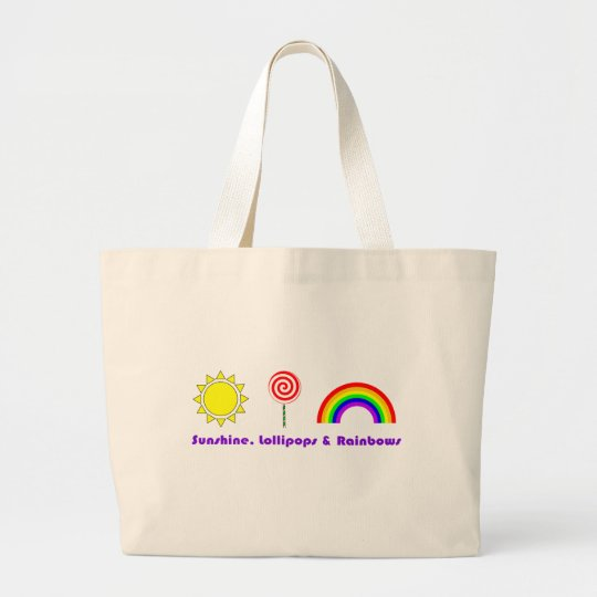 Sunshine Lollipops and rainbows Bag