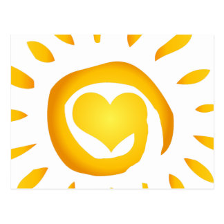 Sunshine Love Postcard