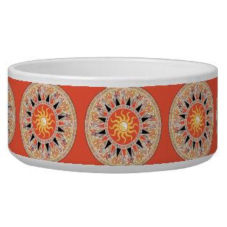 Sunshine mandala bowl