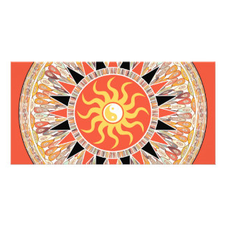 Sunshine mandala card