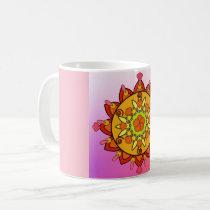 Sunshine Mandala Coffee Mug
