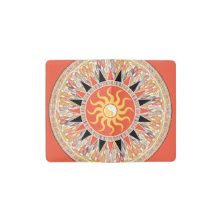 Sunshine mandala pocket moleskine notebook