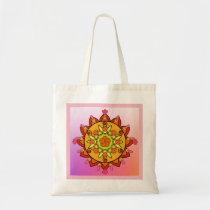 Sunshine Mandala Tote Bag