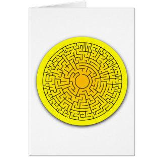 Sunshine Maze Card