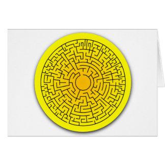 Sunshine Maze Greeting Card