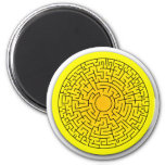 Sunshine Maze Magnets